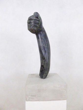 Skulptur SteinSchlag Christina Webeler